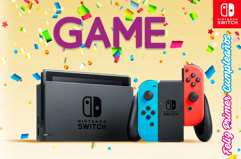 Ofertas Nintendo Switch Marzo Game